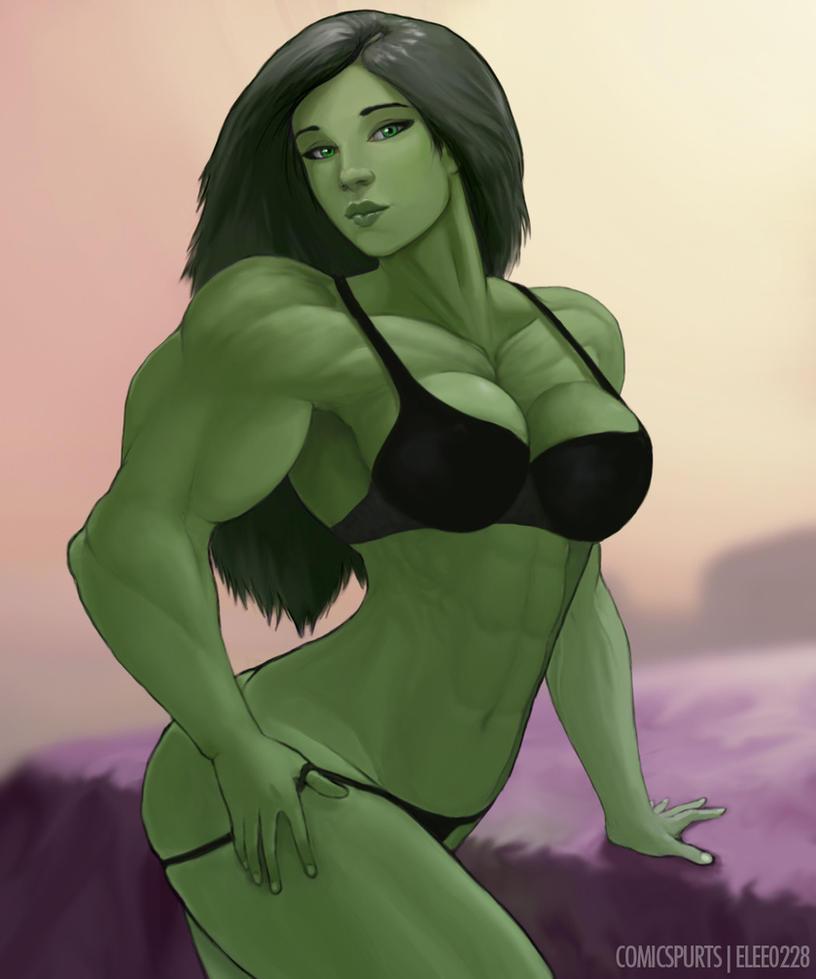 She Hulk By Elee0228 On Deviantart
