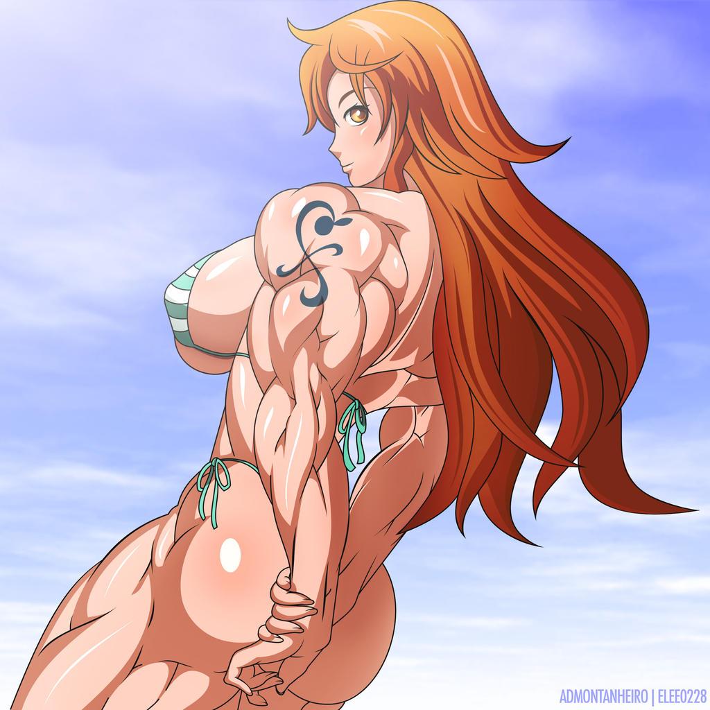 Anime naked nami hentai love