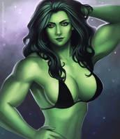 She-Hulk by elee0228