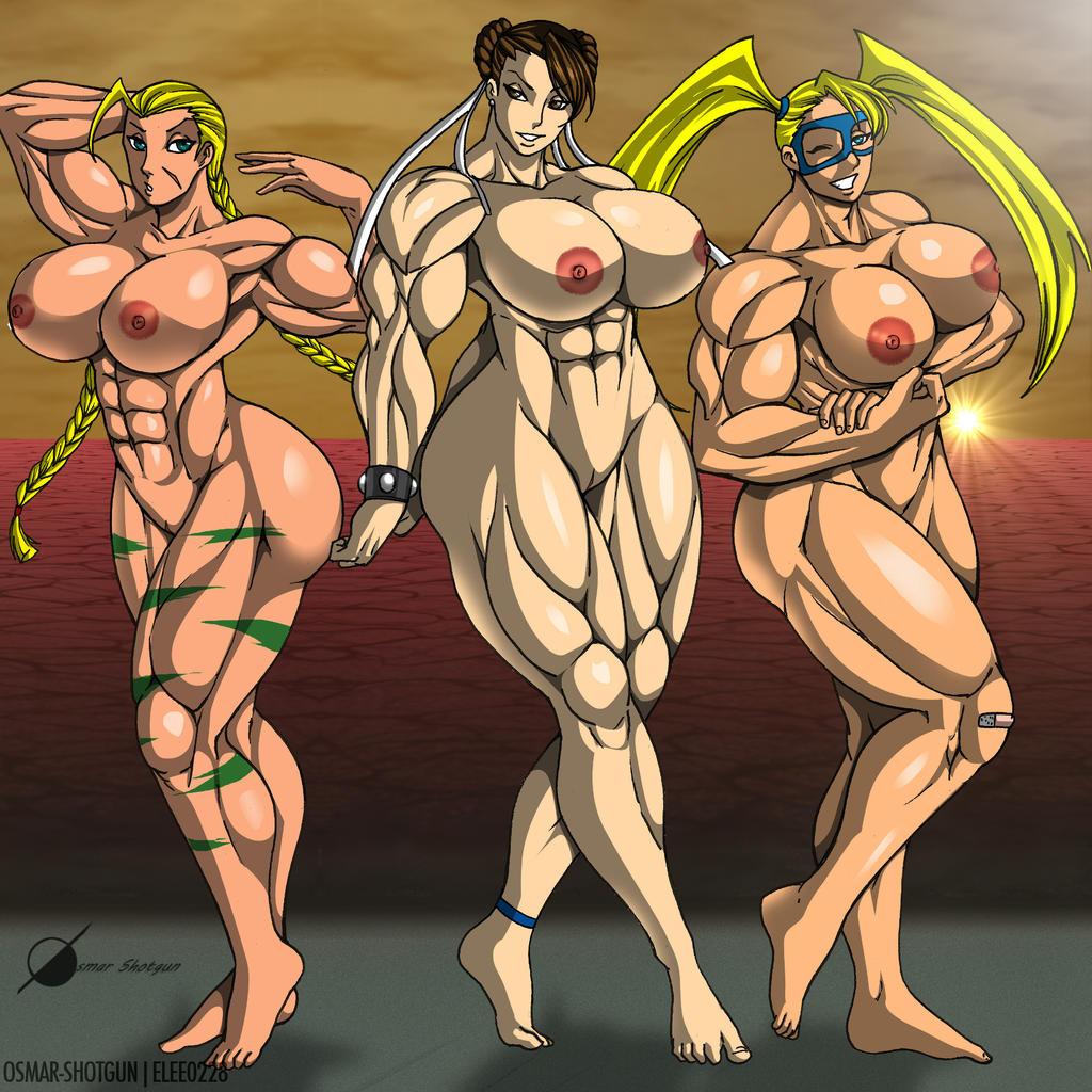 Cammy chun li nude those on!