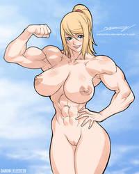 Samus-nude by elee0228