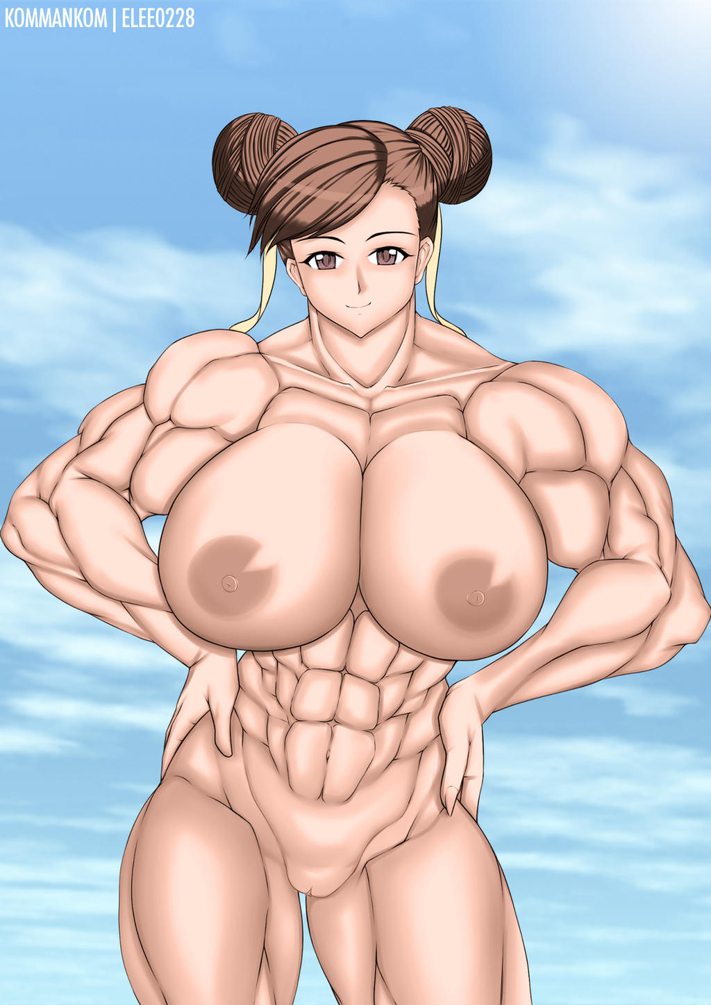 Really. chun li nude art are