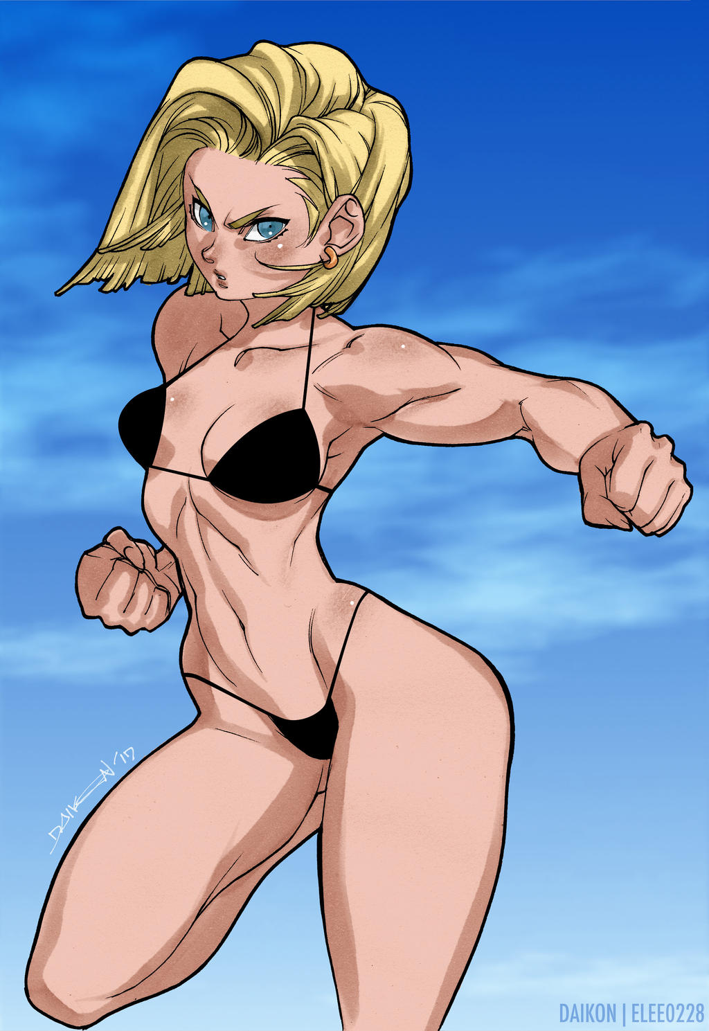 LOVE This goku and android 18 naked sex that horny