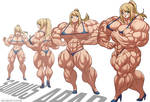 Samus Muscle Growth (Part 2: Level 5-8)