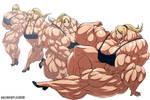 Samus Muscle Growth (Part 4: Level 13-16)
