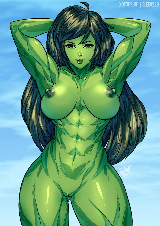 She hulk favourites by Swampeople on DeviantArt