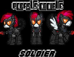 Fallout Mod Concept: Enclave Soldier by Brisineo