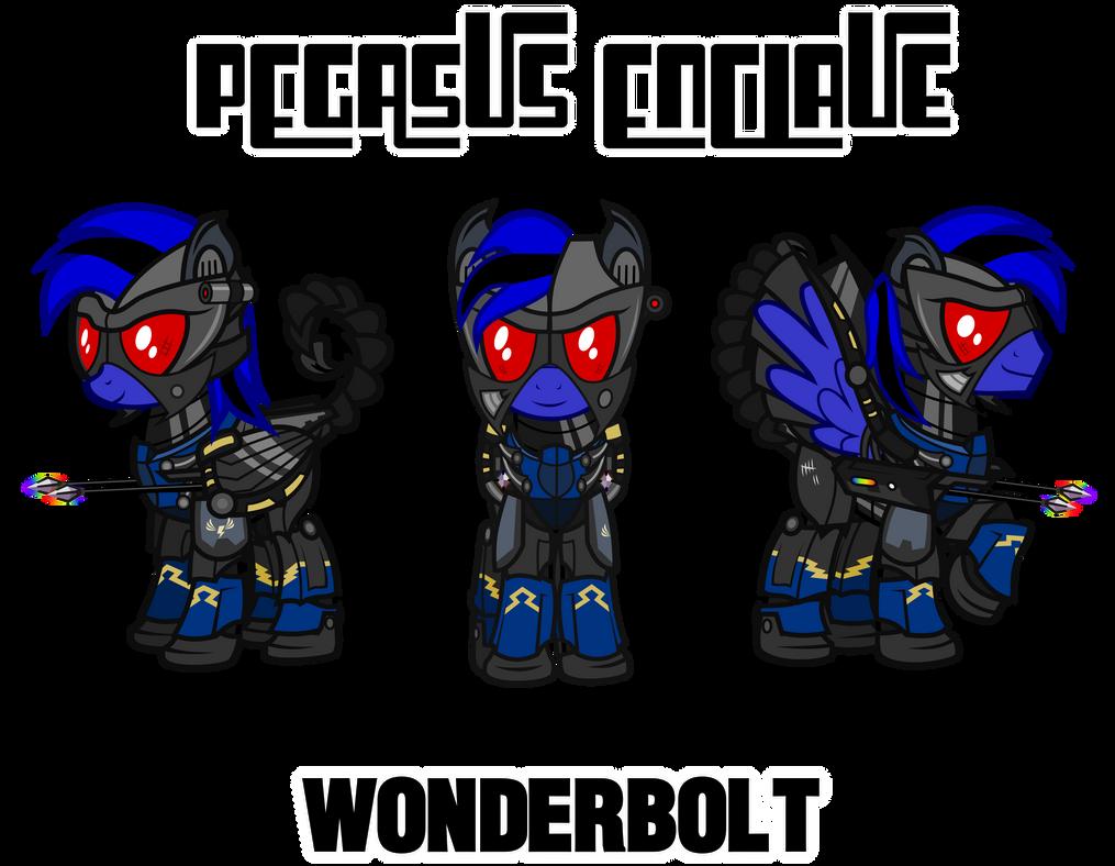 Fallout Mod Concept: Enclave Wonderbolt by Brisineo