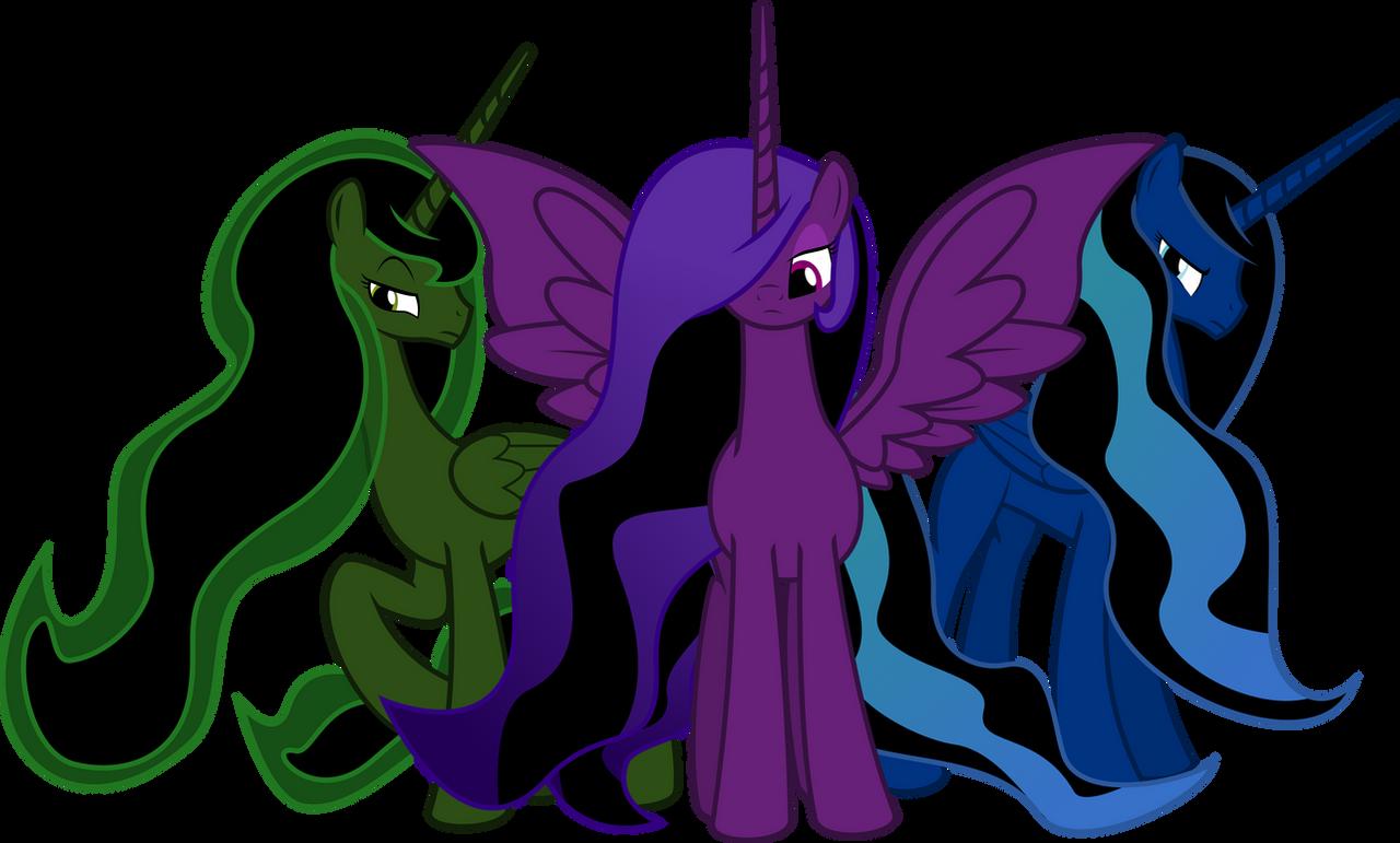 Mutant Alicorns of the Goddess