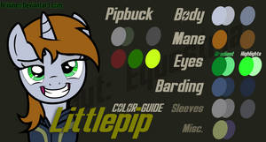 Littlepip Color Guide