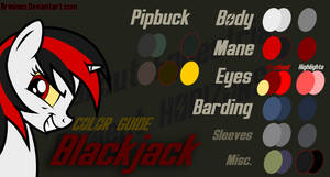 Blackjack Color Guide