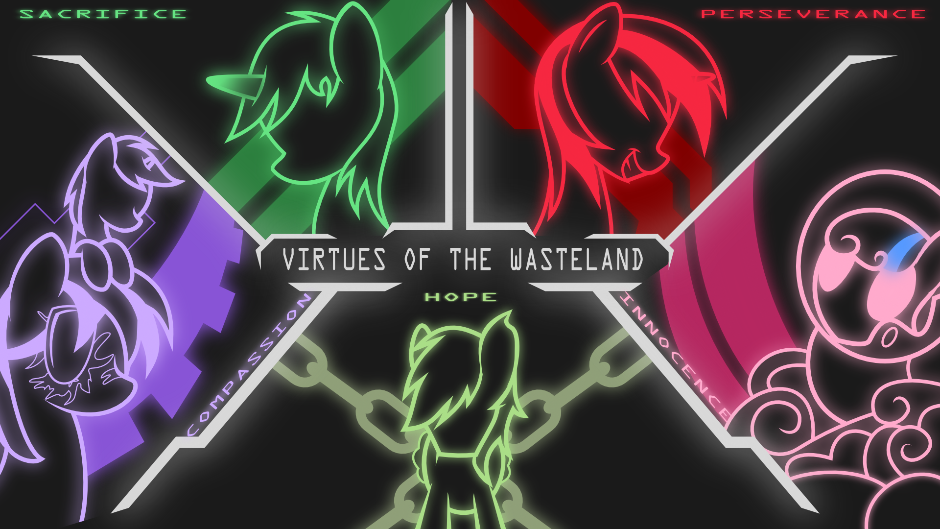 Virtues Of The Wasteland Wallpaper By Brisineo On DeviantArt