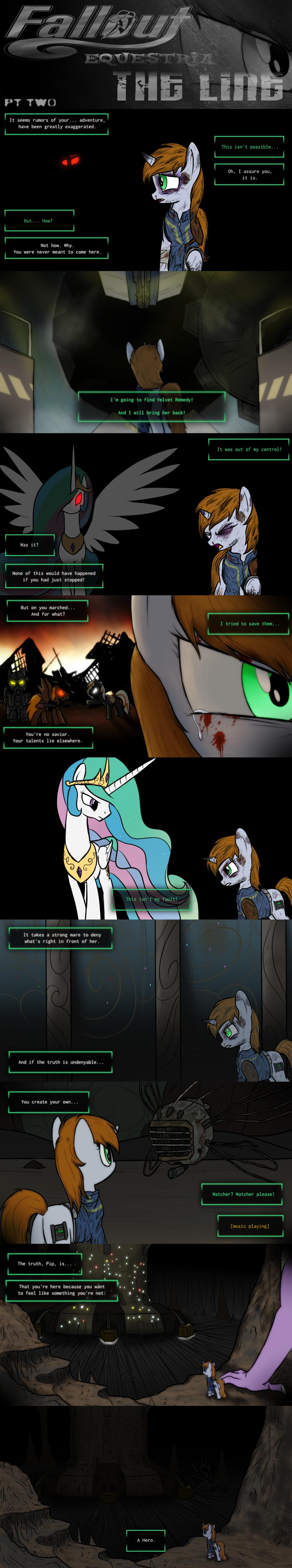 COMMISSION - Fallout Equestria: The Line (Pt 2)