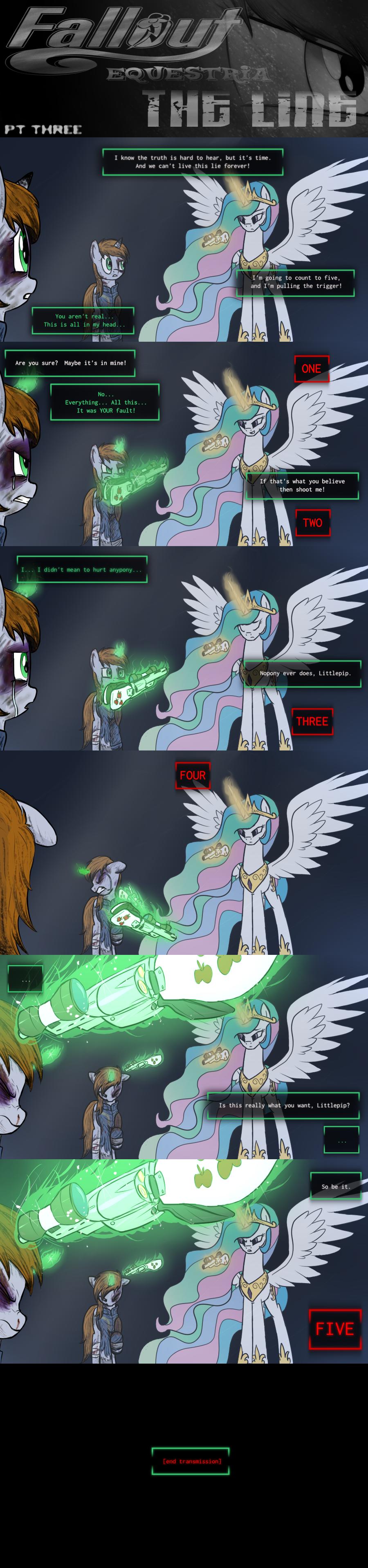 COMMISSION - Fallout Equestria: The Line (Pt 3)