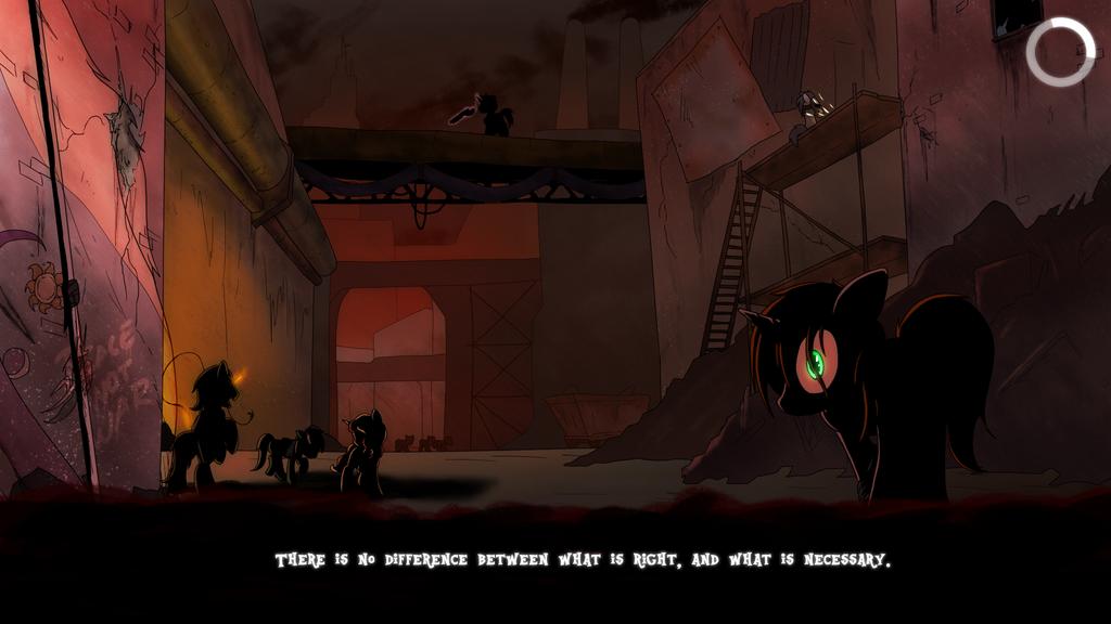 Fallout Equestria: the Line Load Screen 3 by Brisineo