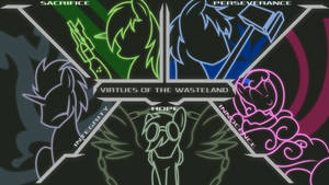 COMMISSION - Virtues of the Wasteland V2 by Brisineo