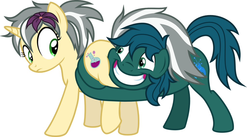 Commission: Poison Trail and Mercury Shine by Brisineo