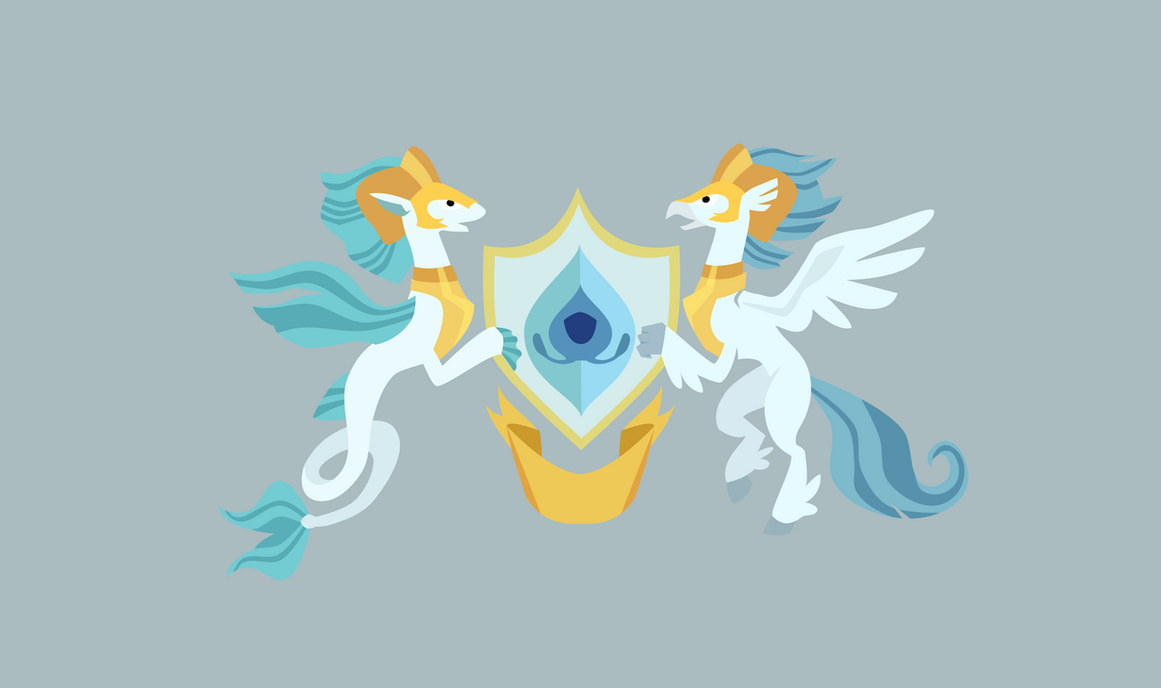 Hippogriff Kingdom Flag by Brisineo
