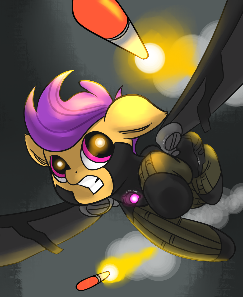 Fly fast, Scoots! by Weisdrachen