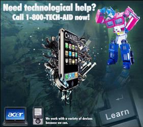 Tech Help Flyer by CrisBehrmann