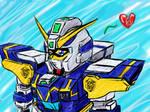Talec's Hazel Gundam by optimusprimus001