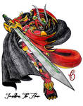 SDGF Project Storm: Fire Diety Jionathien by optimusprimus001