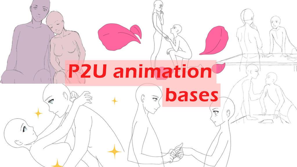 P2U animation bases