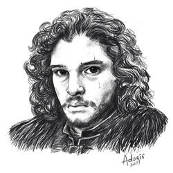 Jon Snow by AdorisArts