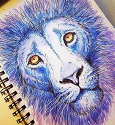 Mystic lion by AdorisArts
