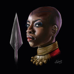 Okoye Fanart by AdorisArts
