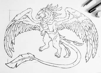 Griffin by AdorisArts