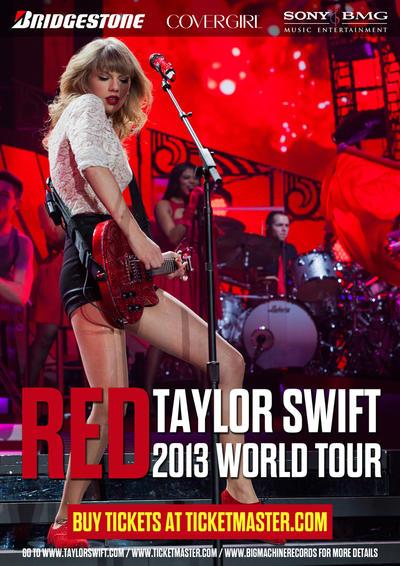 Taylor Swift 2013 World Tour Poster by tnaduyen on DeviantArt