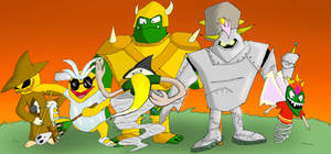 Spyro the dragon boss rush