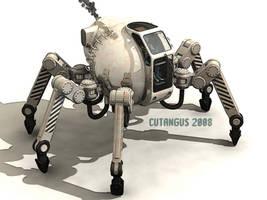 LEGGED MACHINE by CUTANGUS