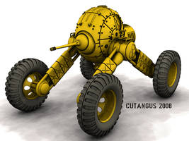 WHEELED WAR MACHINE 297 A by CUTANGUS