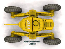 WHEELED WAR MACHINE 297 A III by CUTANGUS