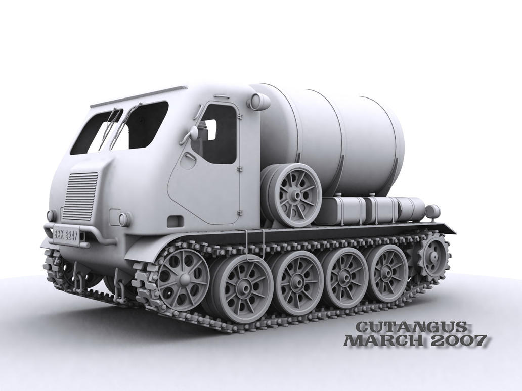 SIMPLE TRACKED TRANSPORT by CUTANGUS