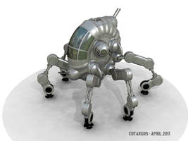 Six legs and a turboshaft by CUTANGUS