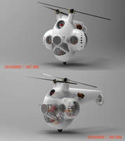 TURRETED HELICOPTER by CUTANGUS