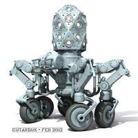 Robotical sentinel on wheels by CUTANGUS