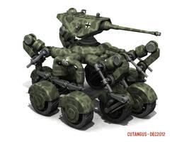 PANZERAD-E14 by CUTANGUS