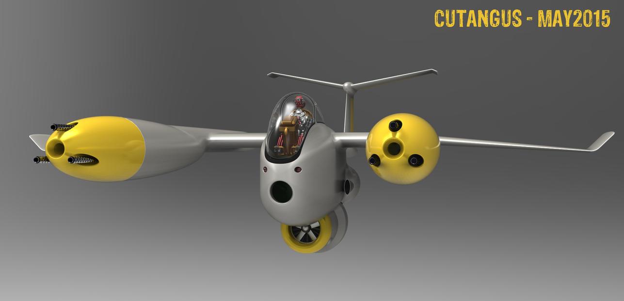 Non-human pilot by CUTANGUS