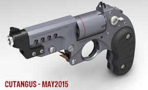 Retrofuturist revolver