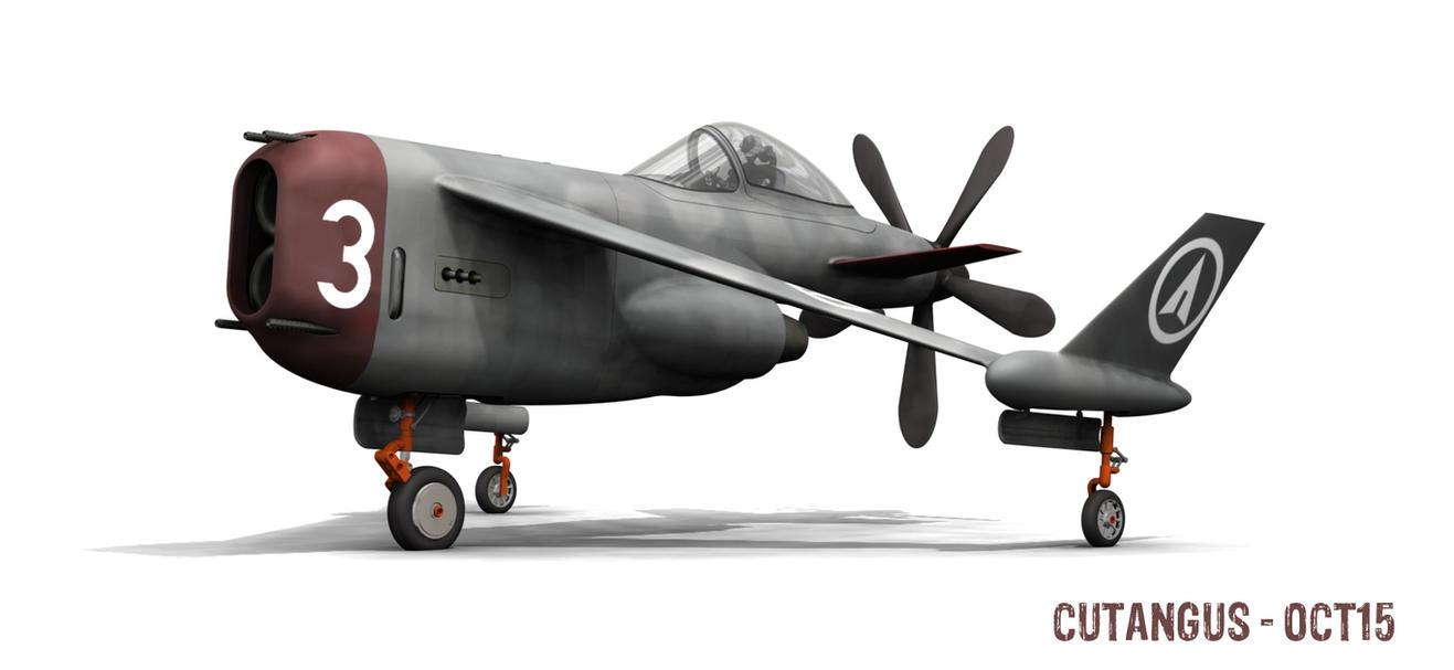 White 3 in Future Air Wars by CUTANGUS