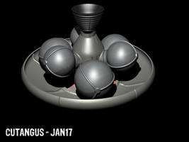 Aerobraking Space Vehicle by CUTANGUS