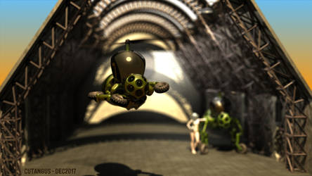 Mechanical Wasp Taking-Off by CUTANGUS
