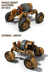 EXTREME 4x4 LAND VEHICLE by CUTANGUS