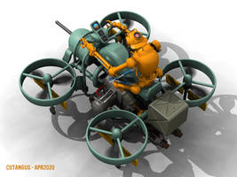 VTOL MECHANICAL RIDER