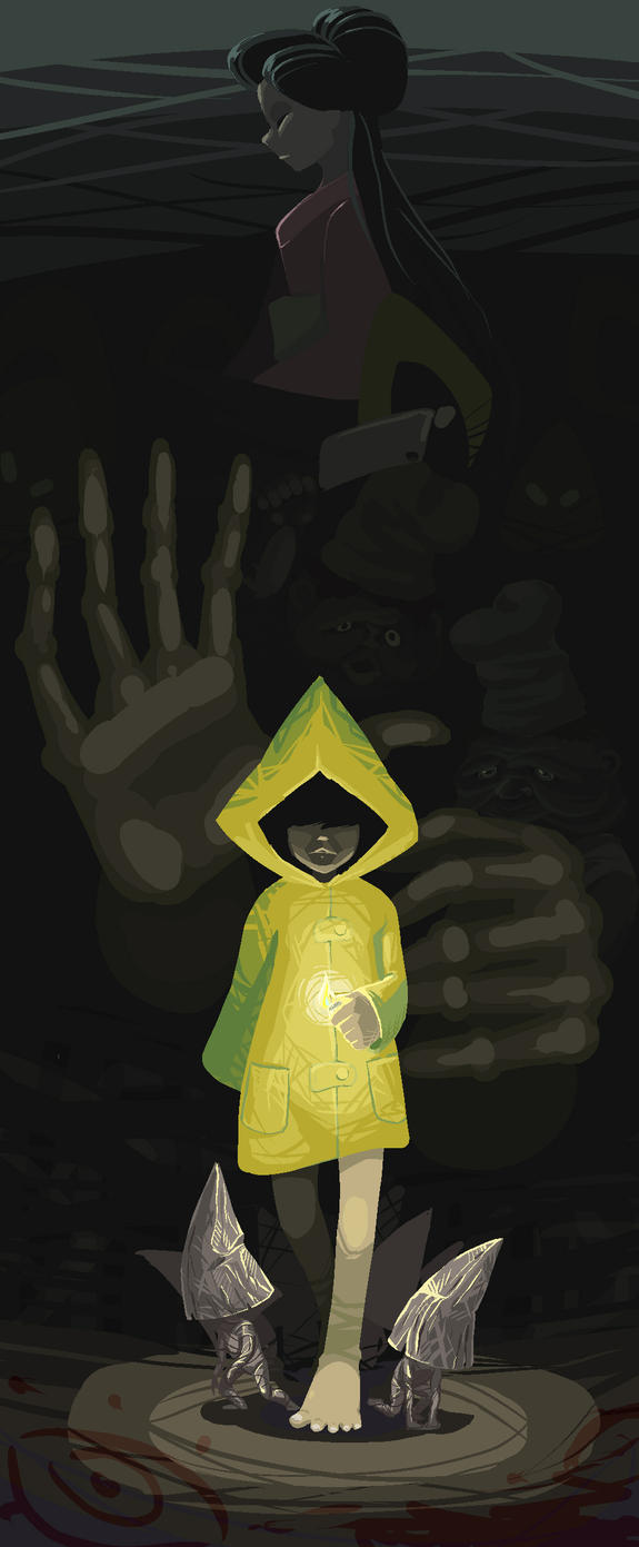 Little Nightmares by Shadow-Wood