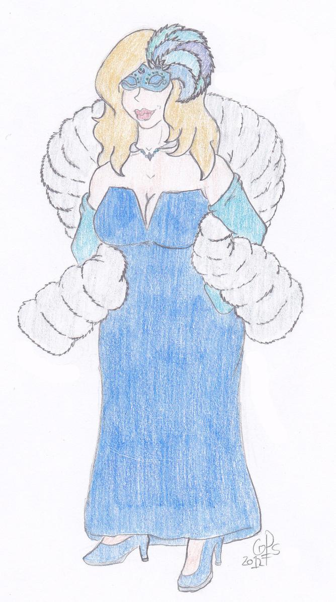 Madame Blue by gPsBassist